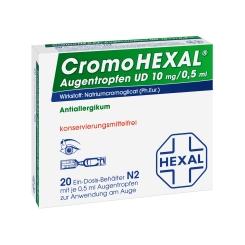 CromoHEXAL® Augentropfen UD, 10 mg/0,5 ml