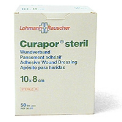 Curapor® Wundverband 10 x 8cm steril