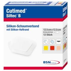 Cutimed® Siltec® B 12,5 cm x 12,5 cm