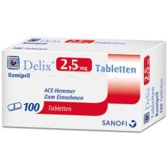 DELIX 2,5 mg Tabletten