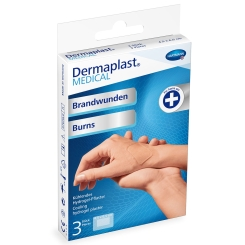 Dermaplast® MEDICAL Brandwunden 4,5 x 6,5 cm