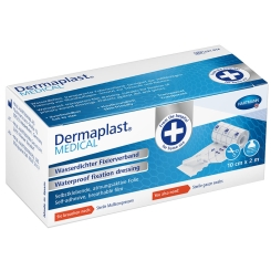 DERMAPLAST MEDICAL Fixierverband wasserd.10 cmx2 m