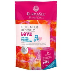DERMASEL® Totes Meer Badesalz + Love Limited Edition