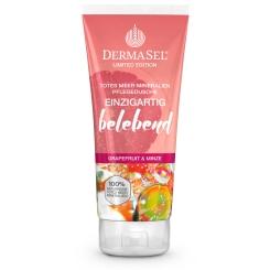 DERMASEL® Totes Meer Pflegedusche Einzigartig belebend Grapefruit & Minze Limited Edition