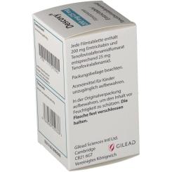 DESCOVY 200 mg/25 mg Filmtabletten