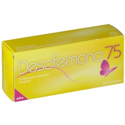 DESOFEMONO 75 Mikrogramm Filmtabletten