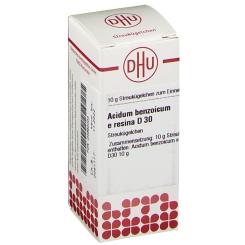 DHU Acidum benzoicum e resina D30 Globuli