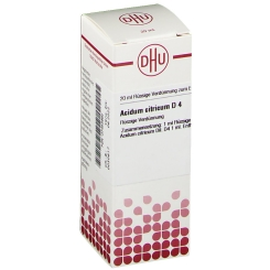 DHU Acidum citricum D4 Dilution
