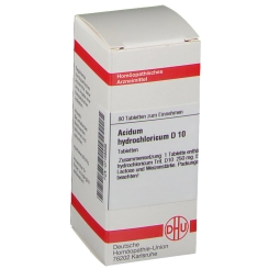 DHU Acidum hydrochloricum D10 Tabletten