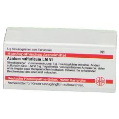 DHU Acidum Sulfuricum LM VI