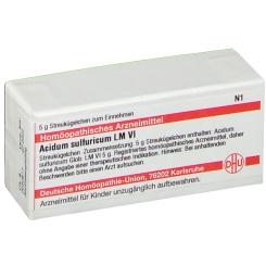 DHU Acidum sulfuricum LM VI Globuli