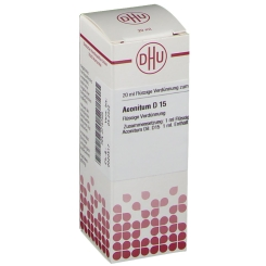 DHU Aconitum D15 Dilution