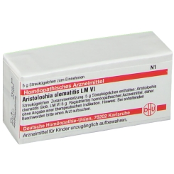 DHU Aristolochia clematitis LM VI Globuli