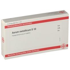 DHU Aurum Metallicum D10