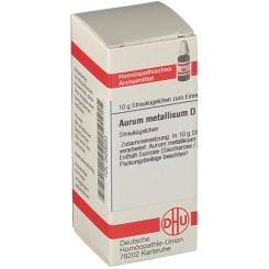 DHU Aurum metallicum D60 Globuli