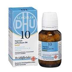 DHU Biochemie 10 Natrium sulfuricum D6 karto