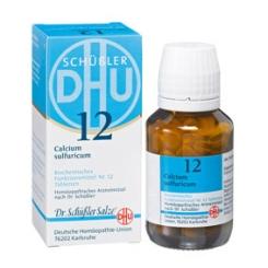 DHU Biochemie 12 Calcium sulfuricum D3