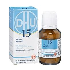 DHU Biochemie 15 Kalium jodatum D6