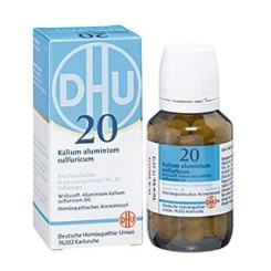 DHU Biochemie 20 Kalium aluminium sulfuricum D6