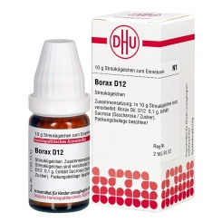 DHU Borax D12 Globuli