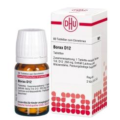 DHU Borax D12 Tabletten