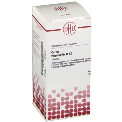 DHU Carbo vegetabilis D12 Tabletten