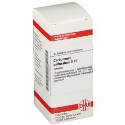 DHU Carboneum sulfuratum D12 Tabletten