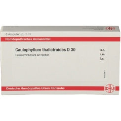 DHU Caulophyllum Thailictroides D30