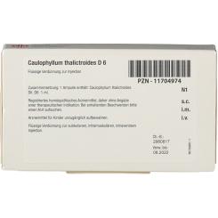 DHU Caulophyllum Thalictroides D6