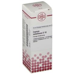 DHU Cuprum metallicum D10 Dilution