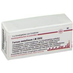 DHU Ferrum metallicum LM XVIII Globuli