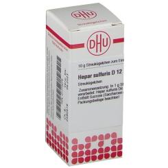 DHU Hepar sulfuris D12 Globuli