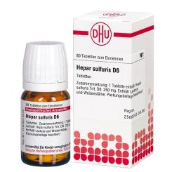 DHU Hepar sulfuris D6 Tabletten