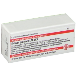 DHU Kalium jodatum LM XXX Globuli