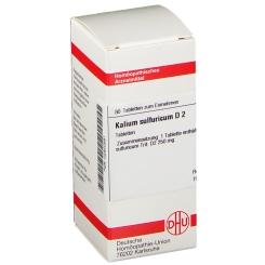 DHU Kalium sulfuricum D2 Tabletten
