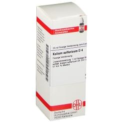 DHU Kalium sulfuricum D4 Dilution