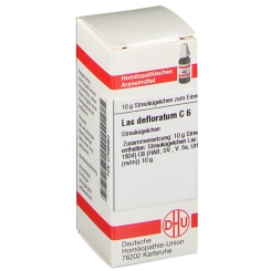 DHU Lac defloratum C6 Globuli