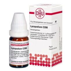 DHU Lycopodium C200 Globuli