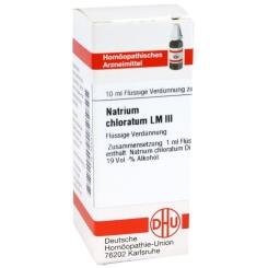 DHU Natrium chloratum LM III Dilution