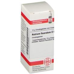 DHU Natrium fluoratum D6 Globuli