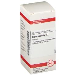 DHU Nux moschata D2 Tabletten