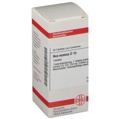 DHU Nux vomica D15 Tabletten