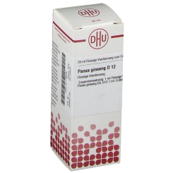 DHU Panax ginseng D12 Dilution