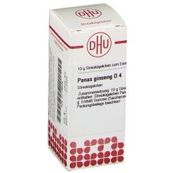 DHU Panax ginseng D4 Globuli