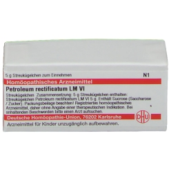 DHU Petroleum rectificatum LM VI Globuli