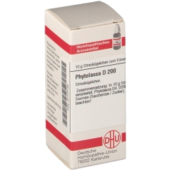 DHU Phytolacca D200 Globuli