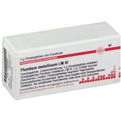 DHU Plumbum metallicum LM VI Globuli