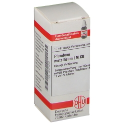 DHU Plumbum Metallicum LM XII