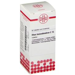 DHU Rhus toxicodendron C15 Tabletten