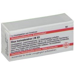 DHU Rhus toxicodendron LM XII Globuli